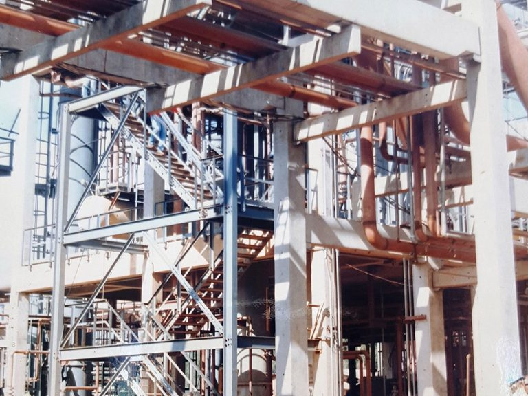 Pipe Rack – Chemical Plant –RS